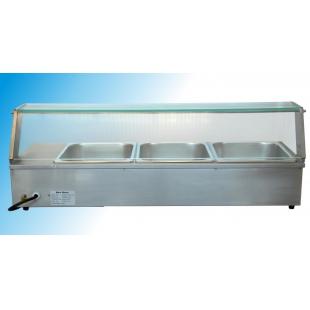 Bain Marie de banc - vitrina calda 862x365x330 mm