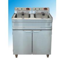 Friteuza electrica pe suport - capacitate 2x12L