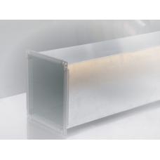 Tubulatura ventilatie -  tubulatura rectangulara din tabla zincata